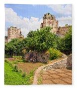 Theodosius Walls In Istanbul Fleece Blanket