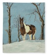 There Is A Season Fleece Blanket