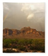 There's Gold At The End Of The Rainbow Fleece Blanket