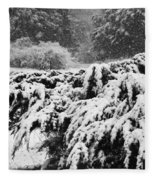 Think Snow Fleece Blanket