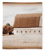 This Old Farm IIi Fleece Blanket