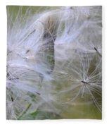 Thistle Seeds Fleece Blanket