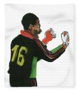Thomas Nkono Fleece Blanket