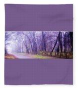 Thomas Road Fleece Blanket