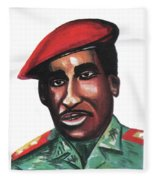 Thomas Sankara Fleece Blanket