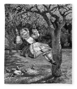 Thomas: The Swing, 1864 Fleece Blanket