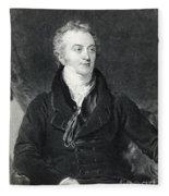 Thomas Young, English Polymath Fleece Blanket