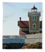 Three Brothers Island Light Station Fleece Blanket