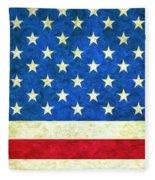 Three Flags Fleece Blanket