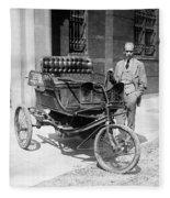 Three-wheel Automobile Fleece Blanket