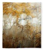 Through The Fog Fleece Blanket