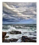 Thunder Hole Fleece Blanket