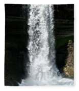 Thunder Water Fleece Blanket