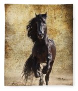 Thundering Stallion Fleece Blanket