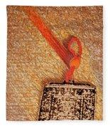 Tibetan Mandala  By Jrr Fleece Blanket