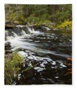 Tidga Creek Falls 1 Fleece Blanket