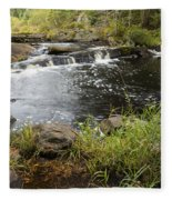 Tidga Creek Falls 2 Fleece Blanket