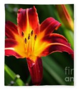 Tiger Lily0263 Fleece Blanket