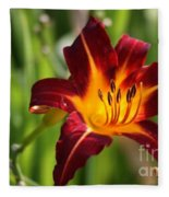 Tiger Lily0275 Fleece Blanket