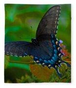 Tiger Swallowtail Butterfly Female Fleece Blanket