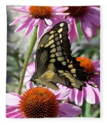Tiger Swallowtail Fleece Blanket