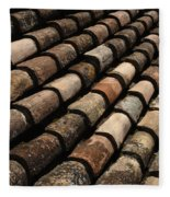 Tile In Dubrovnik Croatia Fleece Blanket