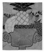 Tiled Fruit Fleece Blanket