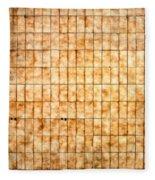 Tiled Wall Fleece Blanket