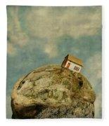 Tilted House Fleece Blanket