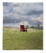 Time Alone Fleece Blanket