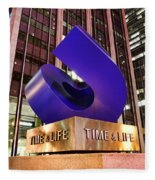 Time And Life Curved Cube Fleece Blanket