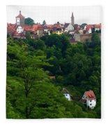 Timeless Rothenburg Fleece Blanket