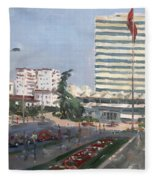 Tirana Fleece Blanket
