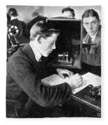 Titanic: Harold Cottam Fleece Blanket