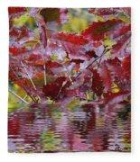 Tn Fall Water Fleece Blanket