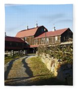To The Barn Fleece Blanket