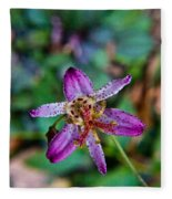 Toad Lilly 1 Fleece Blanket