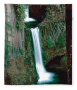 Toketee Falls Fleece Blanket