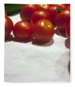 Tomato And Cucumber 1 Fleece Blanket