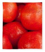 Tomatos Fleece Blanket