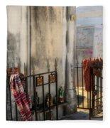 Tomb Of Famille Perrault Fleece Blanket