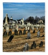 Tombstones Fleece Blanket