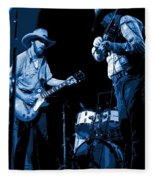 Tommy And Charlie Play Some Blues At Winterland In 1975 Fleece Blanket