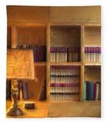 Top Pot's Library Fleece Blanket