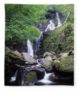 Torc Waterfall, Killarney, Co Kerry Fleece Blanket