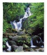 Torc Waterfall, Killarney National Fleece Blanket