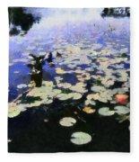 Torch River Water Lilies 3.0 Fleece Blanket
