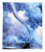 Tornado 1931 Fleece Blanket