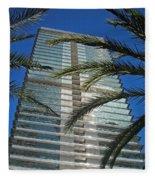 Torre Mapfre - Barcelona Fleece Blanket