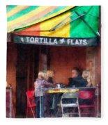 Tortilla Flats Greenwich Village Fleece Blanket